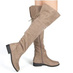 OTK Taupe boots